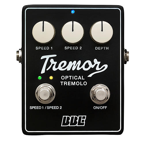 BBE Tremor Analog Tremolo Guitar Effects Pedal-thumbnail
