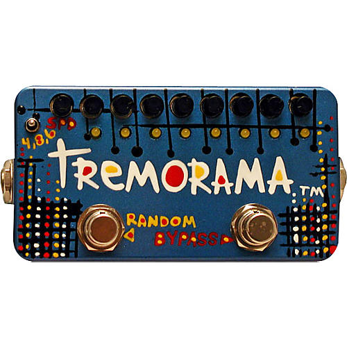 ZVex Tremorama Tremolo Guitar Effects Pedal-thumbnail