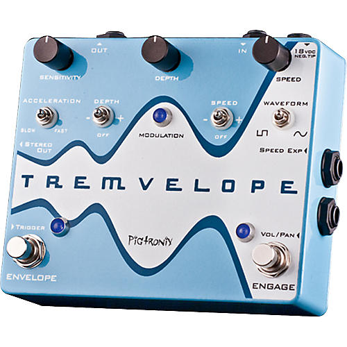 Pigtronix Tremvelope Tremolo Guitar Effects Pedal-thumbnail