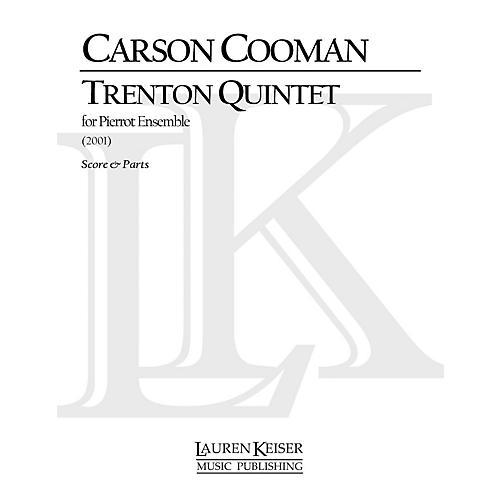 Lauren Keiser Music Publishing Trenton Quintet LKM Music Series Composed by Carson Cooman