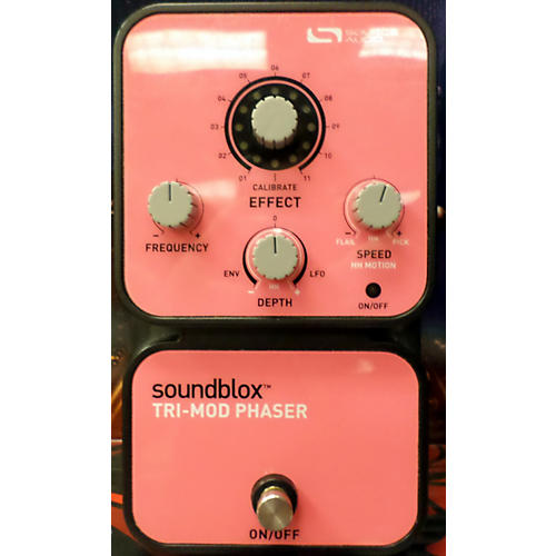 In Store Used Tri Mod Phaser Effect Pedal-thumbnail