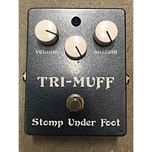 Stomp Under Foot Tri Muff Classic Effect Pedal