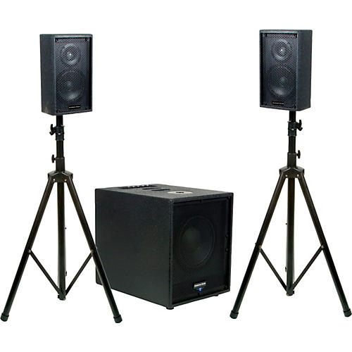 American Audio Tri Pak Live System Active PA with Subwoofer