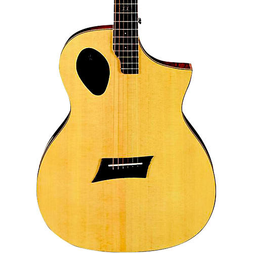 Michael Kelly Triad Port Offset Soundhole Cutaway Acoustic Electric Guitar Natural