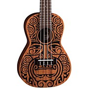 Luna Guitars Tribal Concert Ukulele