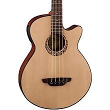 Luna Guitars Tribal Short Scale Acoustic-Electric Bass Level 1