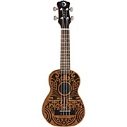Luna Guitars Tribal Soprano Ukulele