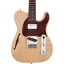 Tribute ASAT Classic Bluesboy Semi-Hollow Electric Guitar Blonde Rosewood Fretboard