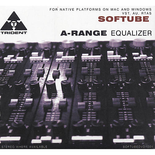 Softube Trident A-Range Equalizer-Native Plug-In