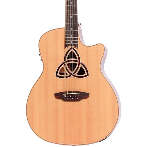 Luna Guitars Trinity 12-String Grand Auditorium Acoustic-Electric Guitar-thumbnail