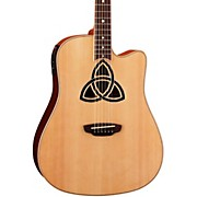 Luna Guitars Trinity Dreadnought Acoustic-Electric Guitar