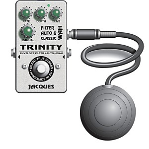 Jacques Trinity Wah Filter Pedal by Jacques