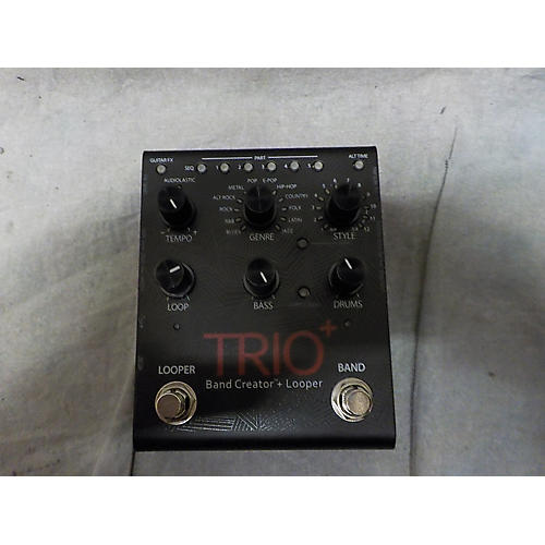 used digitech trio plus band creator pedal guitar center. Black Bedroom Furniture Sets. Home Design Ideas