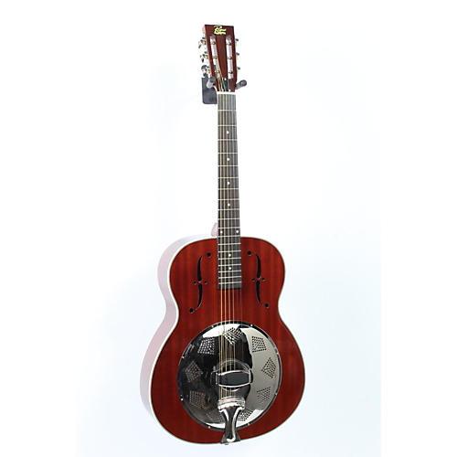 Rogue Triolian Biscuit Cone Resonator Guitar Natural 888365389189