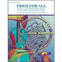 Alfred Trios for All Flute Piccolo