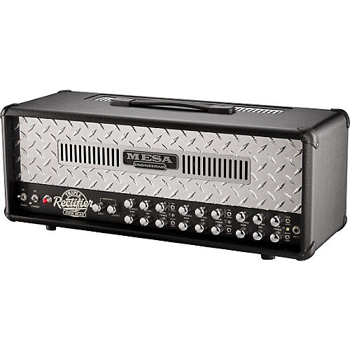 Mesa Boogie Triple Rectifier 150W Tube Guitar Amp Head Black