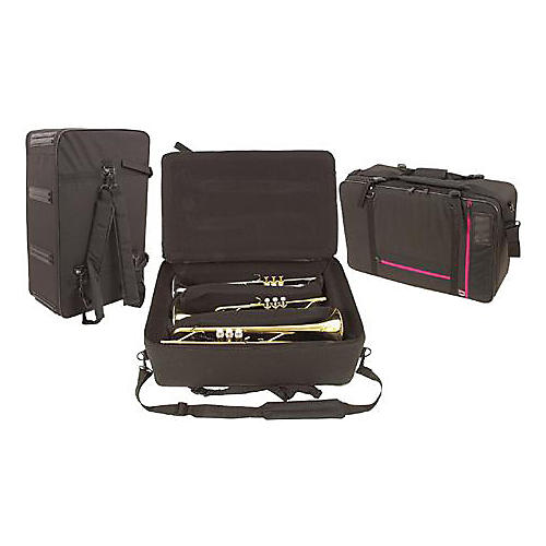 WolfPak Triple Trumpet Case with Backpack