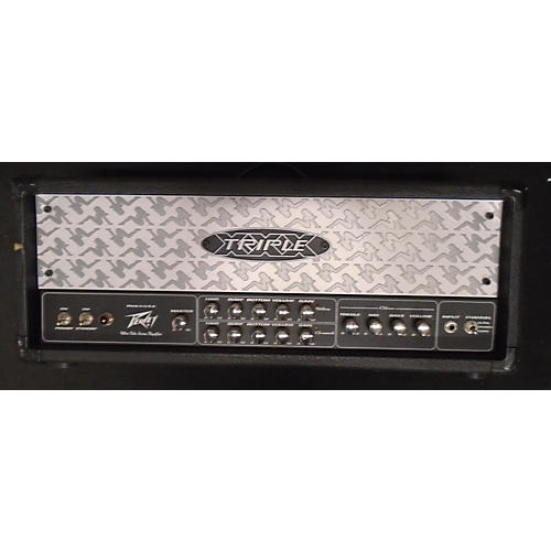 Peavey Triple X Black And Silver Tube Guitar Amp Head