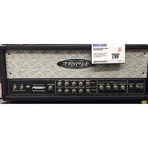 Peavey Triple X Tube Guitar Amp Head-thumbnail