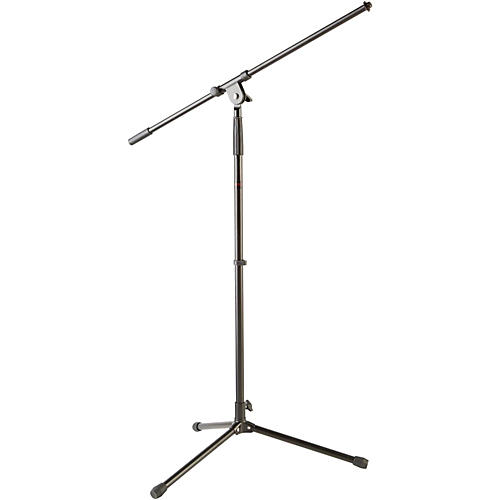 Musician's Gear Tripod Mic Stand with Fixed Boom Black
