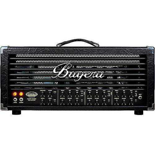 Bugera Trirec 100W 3-Channel Tube Guitar Amplifier Head-thumbnail