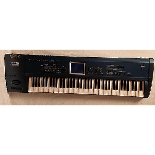 used korg triton extreme 76 key keyboard workstation guitar center. Black Bedroom Furniture Sets. Home Design Ideas