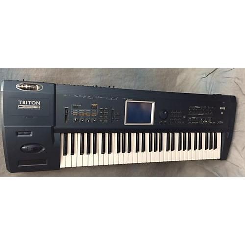 used korg triton extreme keyboard workstation guitar center. Black Bedroom Furniture Sets. Home Design Ideas