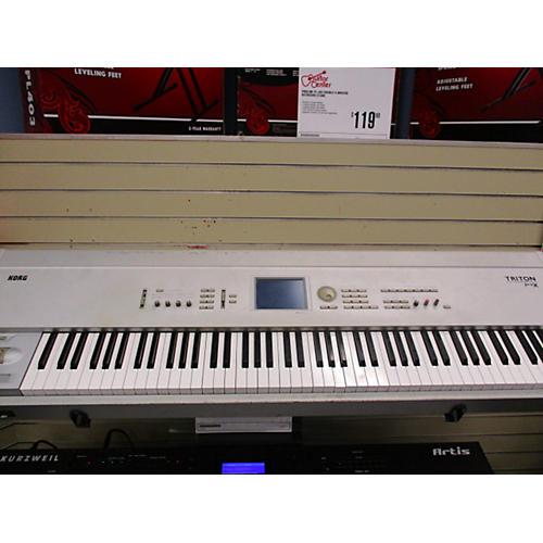 used korg triton pro x 88 key keyboard workstation guitar center. Black Bedroom Furniture Sets. Home Design Ideas