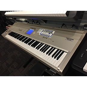 used korg triton studio 88 key keyboard workstation guitar center. Black Bedroom Furniture Sets. Home Design Ideas