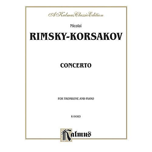 Alfred Trombone Concerto for Trombone By Nicolai Rimsky-Korsakov Book-thumbnail