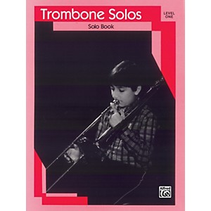 Alfred Trombone Solos Level I Solo Book by Alfred