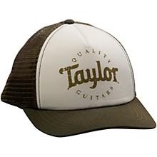 Taylor Trucker Cap Olive/Cream Adjustable