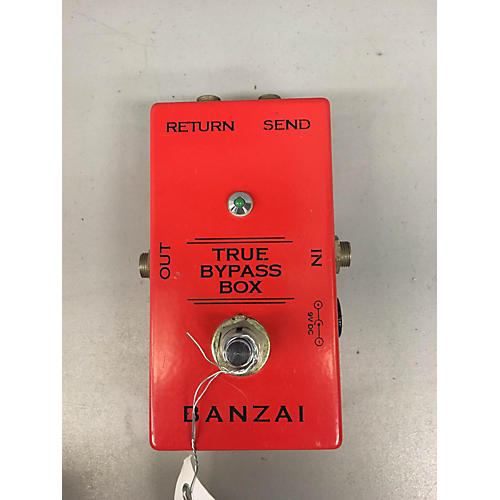 In Store Used True Bypass Box Pedal