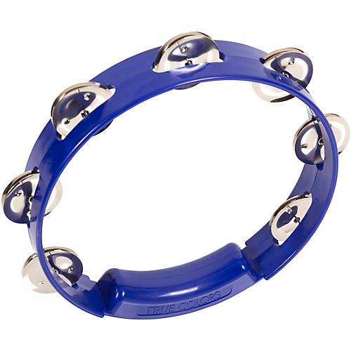 RhythmTech True Colors Tambourine Cobalt Blue 8 in.
