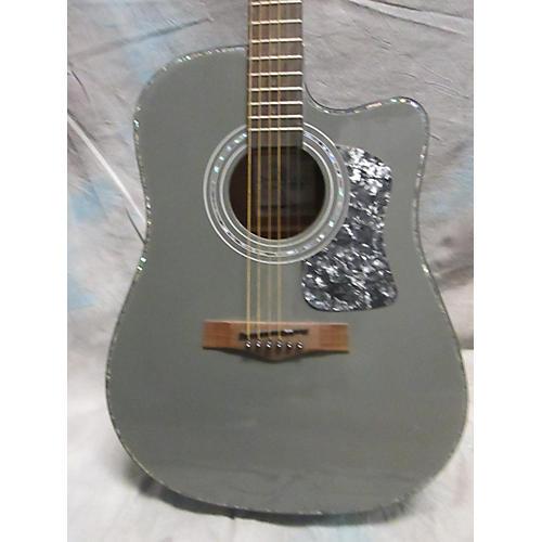 Randy Jackson True Faith Acoustic Electric Guitar Gray