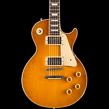 Gibson Custom True Historic 1958 Les Paul Reissue Aged Electric Guitar Vintage Lemon Burst