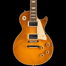 Gibson Custom True Historic 1958 Les Paul Reissue Electric Guitar Vintage Lemon Burst
