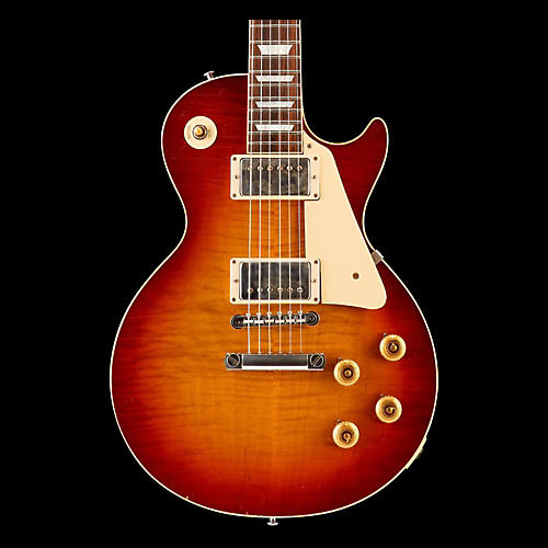 Gibson Custom True Historic 1959 Les Paul Reissue Aged Electric Guitar-thumbnail