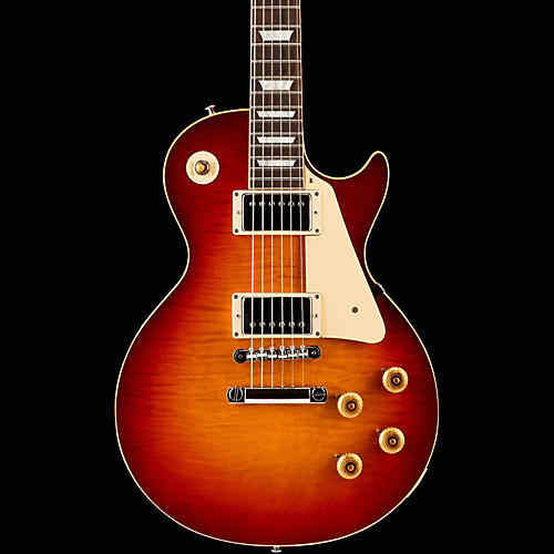 Gibson Custom True Historic 1959 Les Paul Reissue Electric Guitar Vintage Cherry Sunburst-thumbnail
