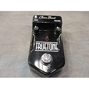 Pre-owned Visual Sound True Tone Clear Boost Effect Pedal by Visual Sound