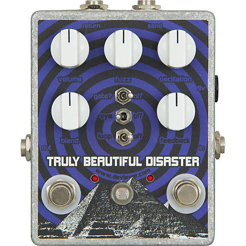 Devi Ever Truly Beautiful Disaster Fuzz Guitar Effects Pedal-thumbnail