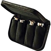 Denis Wick Trumpet / Cornet / French Horn Leather 4 Piece Mouthpiece Pouch