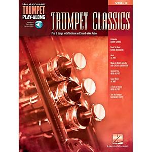 Hal Leonard Trumpet Classics - Trumpet Play-Along Vol. 2 Book/Audio by Hal Leonard