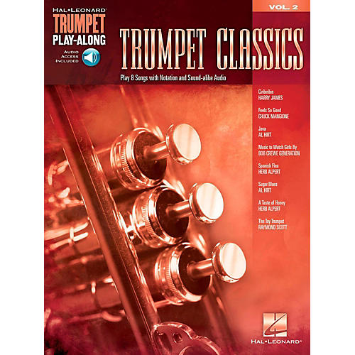 Hal Leonard Trumpet Classics - Trumpet Play-Along Vol. 2 (Book/Audio)-thumbnail