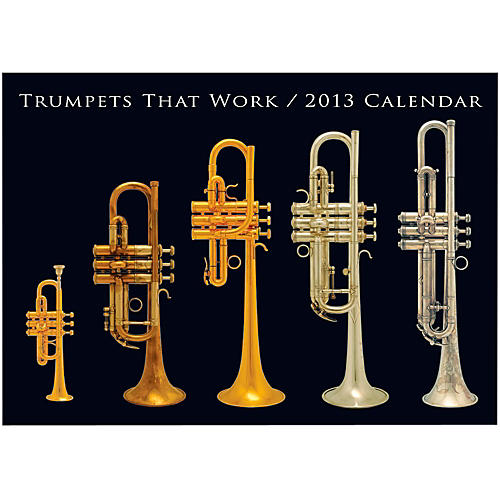 Hal Leonard Trumpets That Work 2013 Wall Calendar-thumbnail