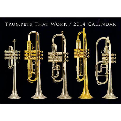 Hal Leonard Trumpets That Work 2014 Wall Calendar