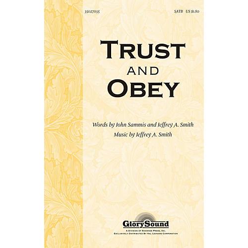 Hal Leonard Trust And Obey SATB