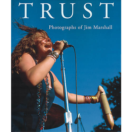 Vision On Trust (Photographs of Jim Marshall) Omnibus Press Series Hardcover Performed by Jim Marshall