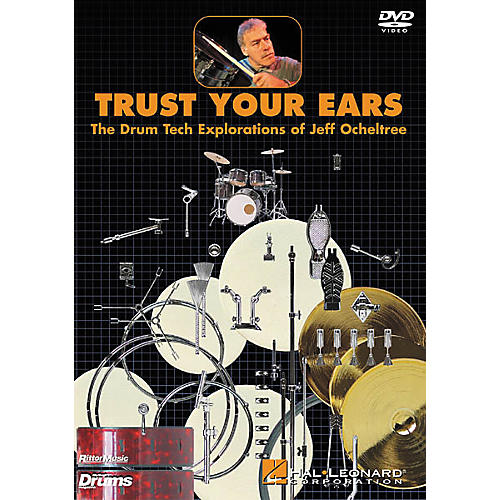 Hal Leonard Trust Your Ears: The Drum Tech Explorations of Jeff Ocheltree (DVD)-thumbnail