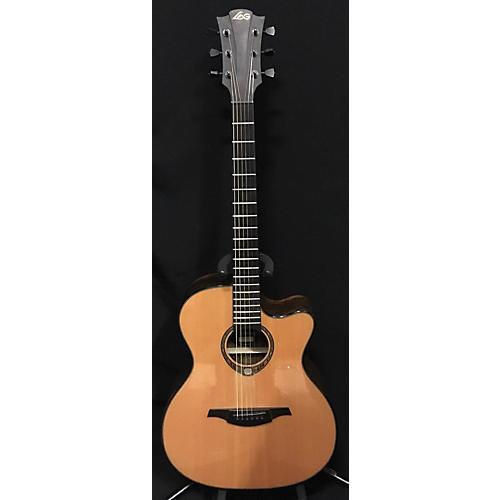 used lag guitars tse 701 acoustic electric guitar guitar center. Black Bedroom Furniture Sets. Home Design Ideas